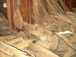 Remnants used for wood-carvers, musical instruments, turning, and furniture.