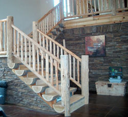 Pine Handrails and Posts